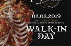 Walk-in-Day in Tatuaggeria \ 02 febbraio 2019