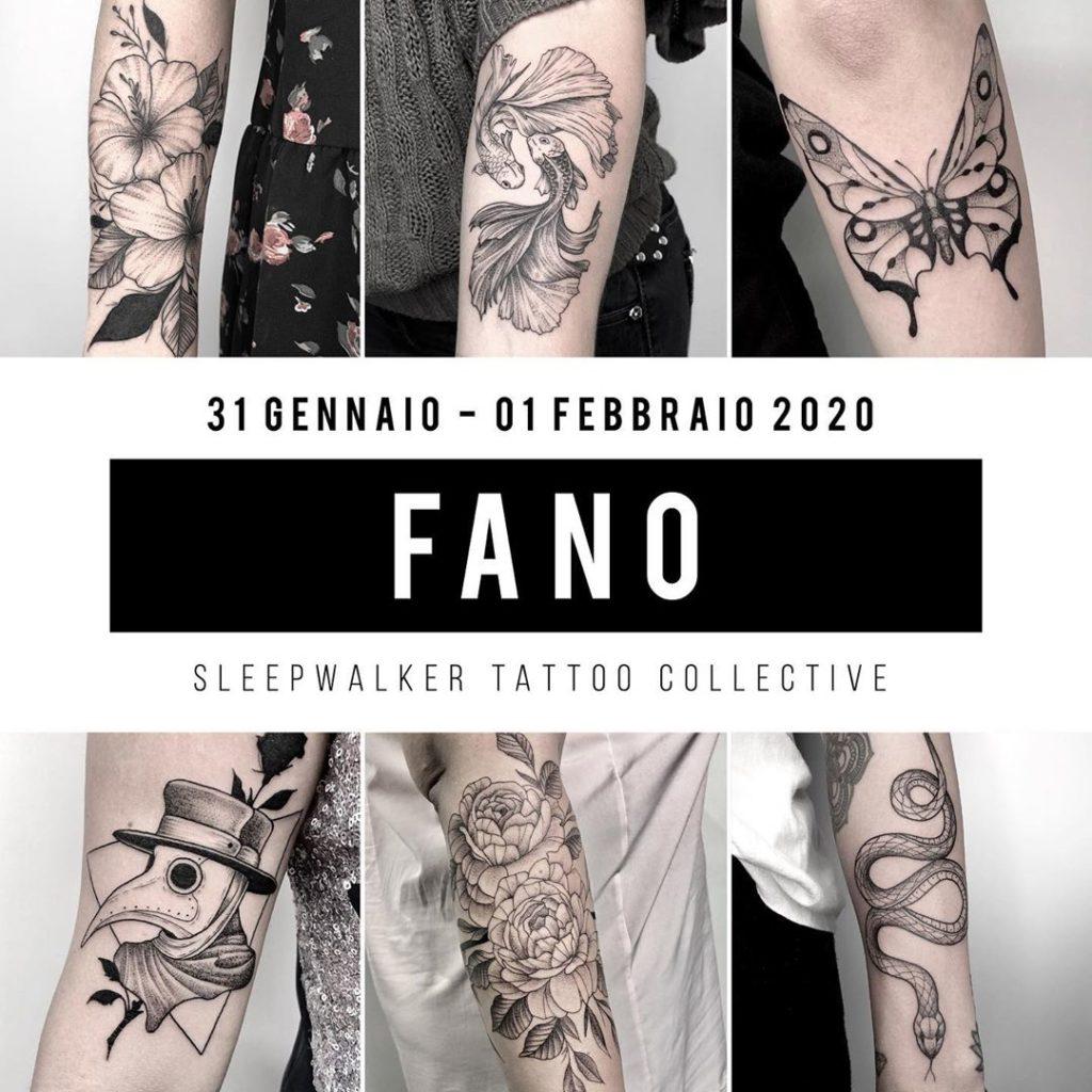 Michele Costante _ Sleepwalker tattoo